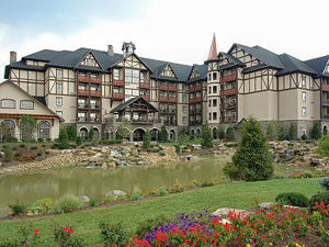 Inn at Christmas Place in Pigeon Forge, TN