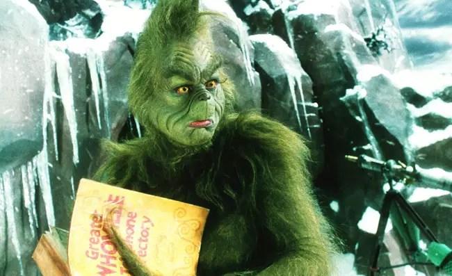 Гринч - любимая рождественская комедия с Джимом Керри