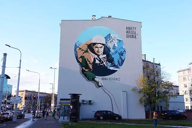 Альпинистка Ванда Руткевич