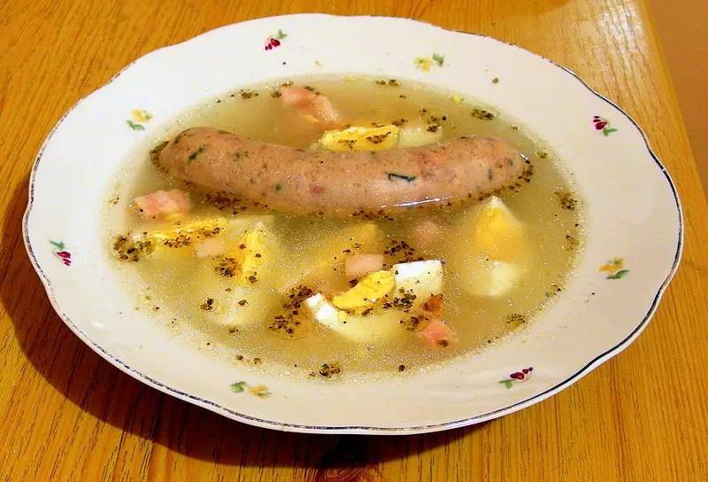 Żur, żurek, польский суп журек на закваске