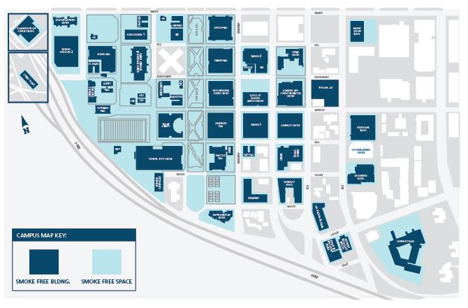 PSU - Smoke Free Map