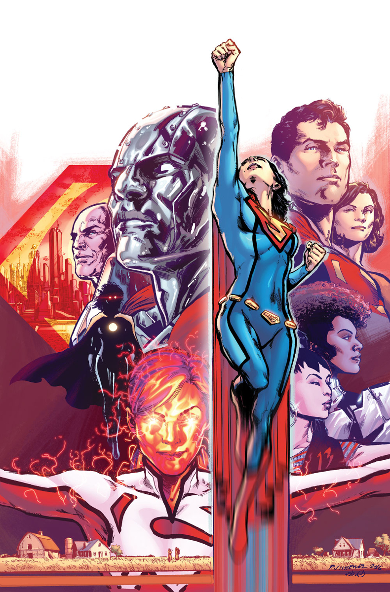 Image result for superwoman rebirth