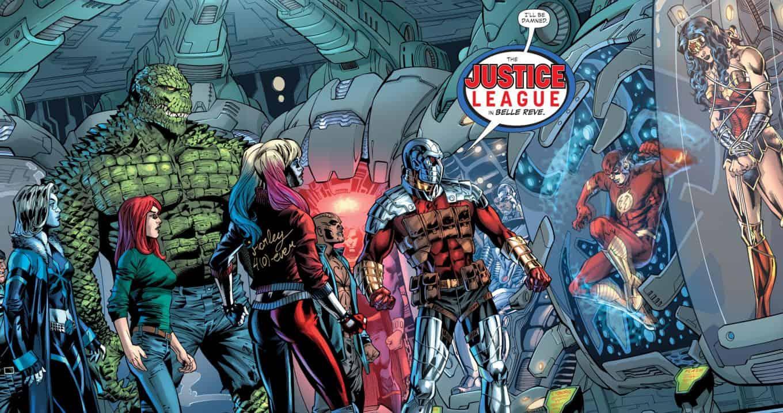DC Comics Rebirth Spoilers Amp Review A Big Justice League