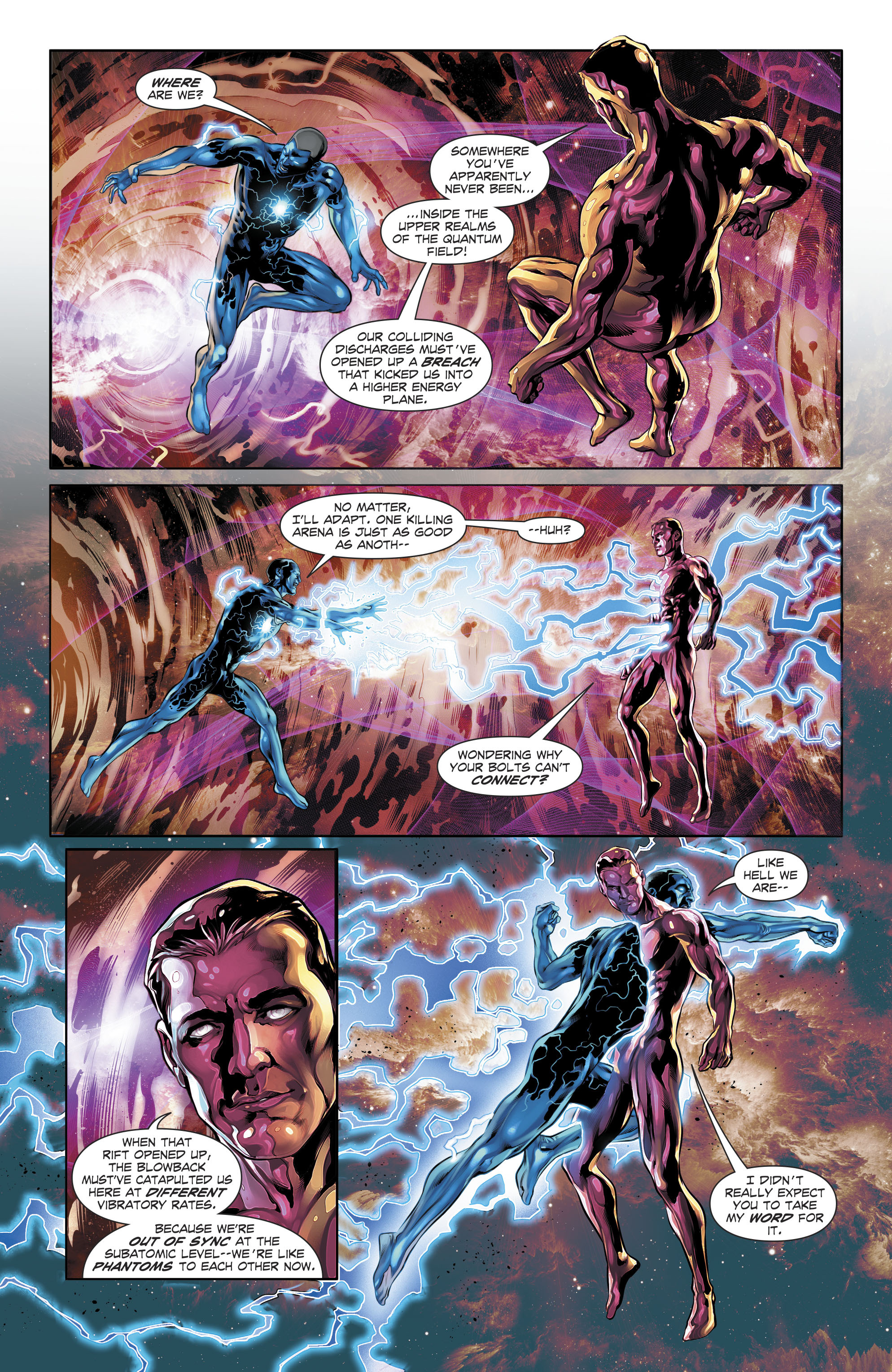 Image result for the fall and rise of captain atom #5