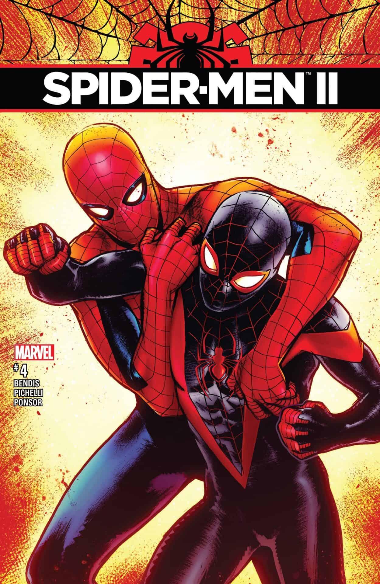 Marvel Comics Legacy Amp Spider Men Ii 4 Spoilers Miles