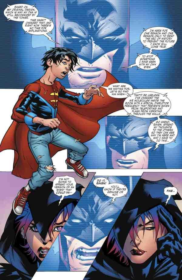 DC Comics Rebirth Universe & Super Sons #11 Spoilers ...