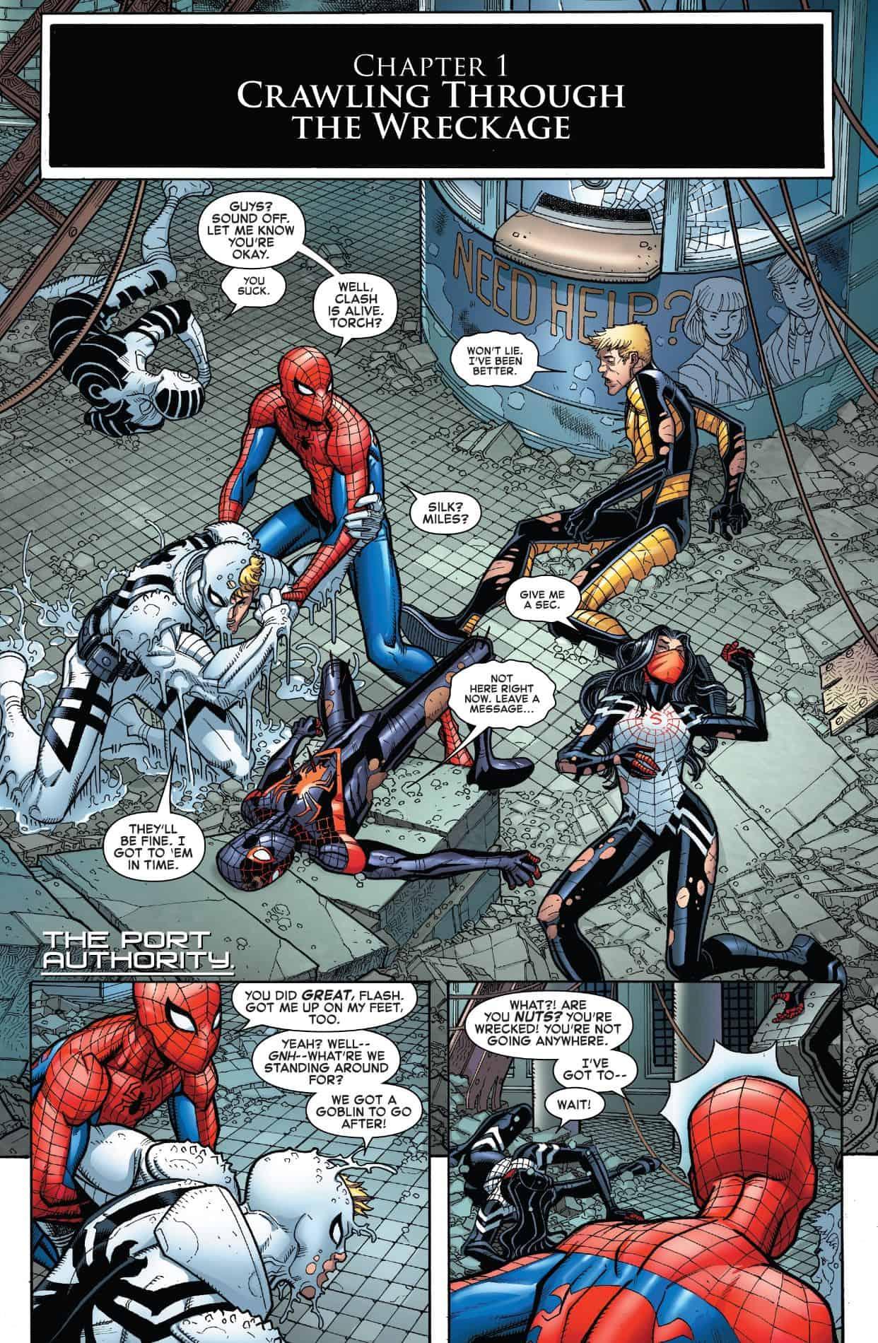 Marvel Comics Universe Amp Amazing Spider Man 800 Spoilers