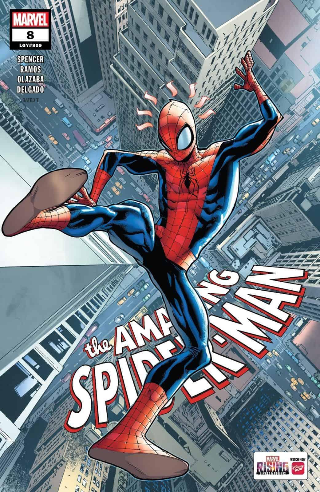 Marvel Comics Universe Amp Amazing Spider Man 8 Spoilers
