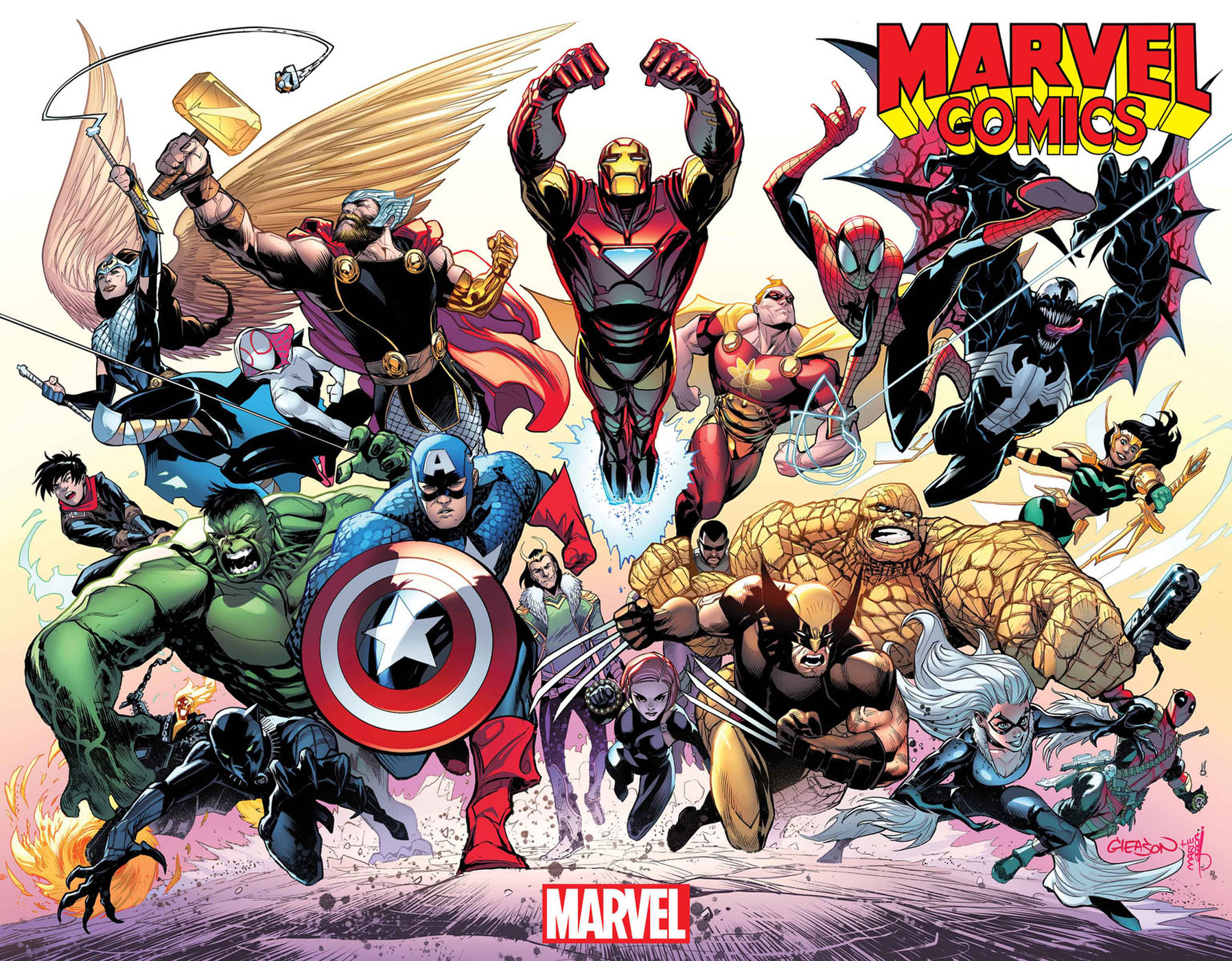 Marvel Comics Universe Amp September Solicitations Who