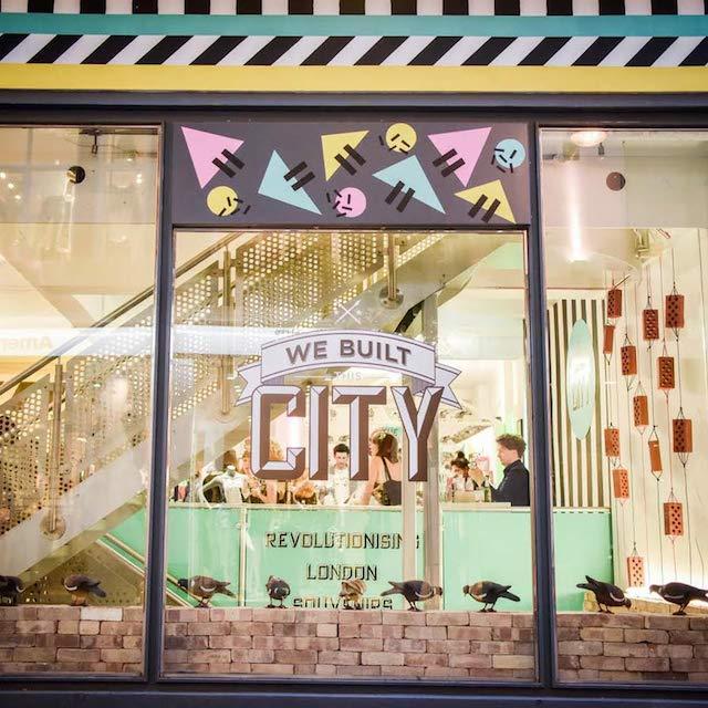 We Built This City London retail pop-up