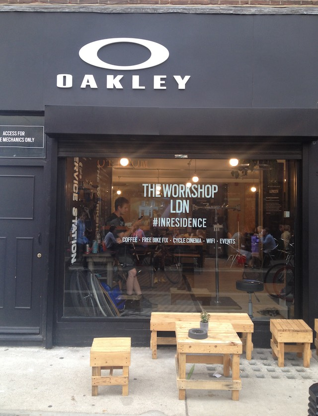 Oakley, inresidence, pop-up, London pop-up, Exmouth Market, retail trends, trend tours, retail innovation