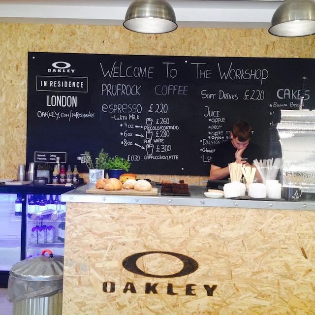 Oakley Workshop Exmouth Market London, trend tours, retail design, retail trends, London pop-ups,  retail innovation, London store design, Oakley,