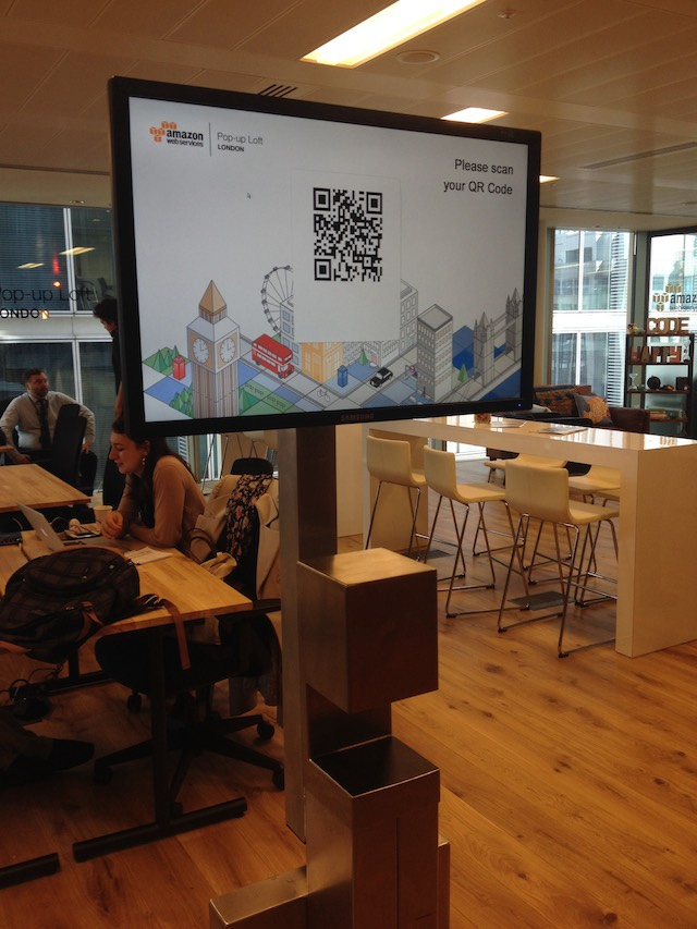 AWS, Amazon Web Services, AWS pop-up loft London, technology innovation, technology trends in business,