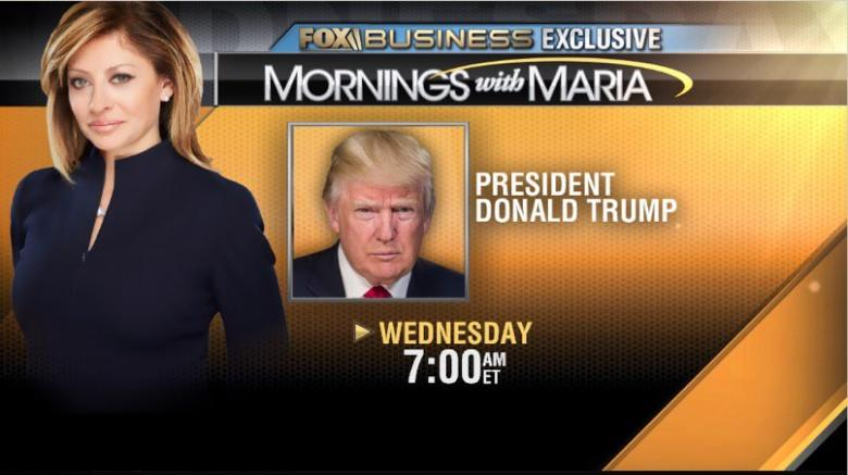 Image result for photos of bartiromo interviewing trump