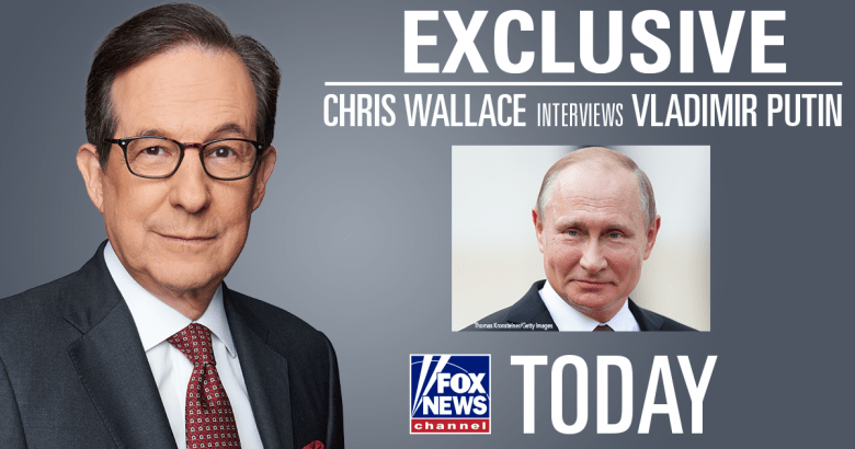 Image result for photos of chris wallace and putin