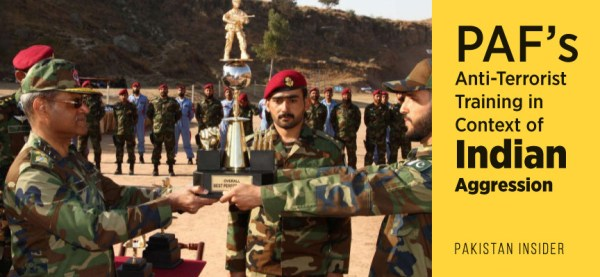 PAF's Anti-Terrorist Training in Context of Indian ...