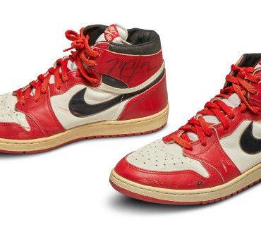 Культовые кроссовки Майкла Джордана выставили на аукцион