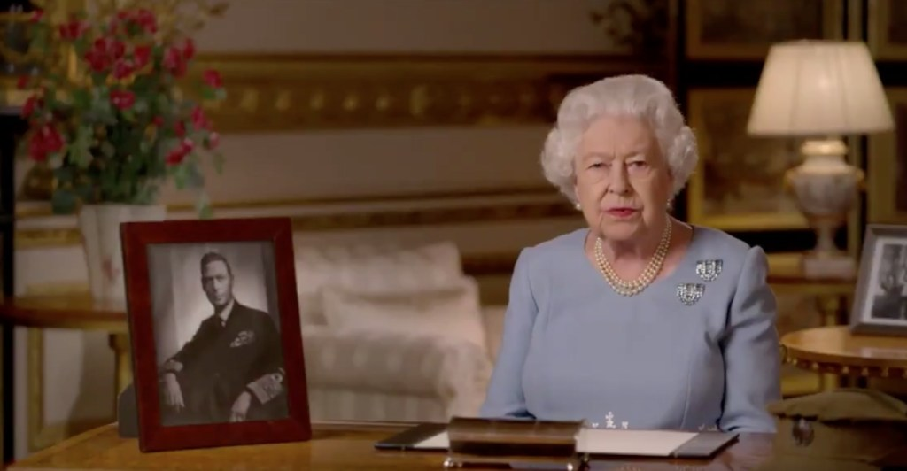 «Никогда не сдавайся»: трогательная речь Елизаветы II в честь 75-летия Победы