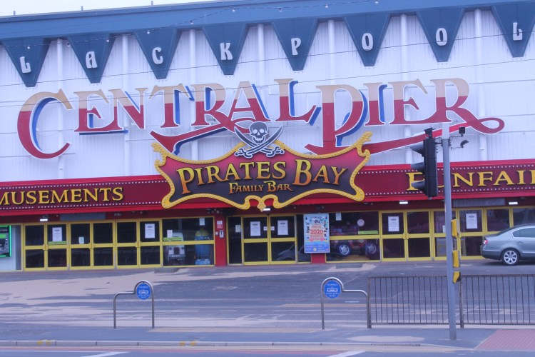 Pirates Bay Family Bar Central Pier