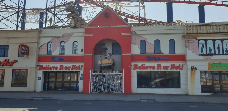 Ripleys believe it or not. Budget Blackpool attraction