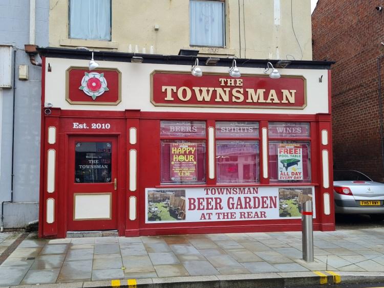 Pub run - the townsman