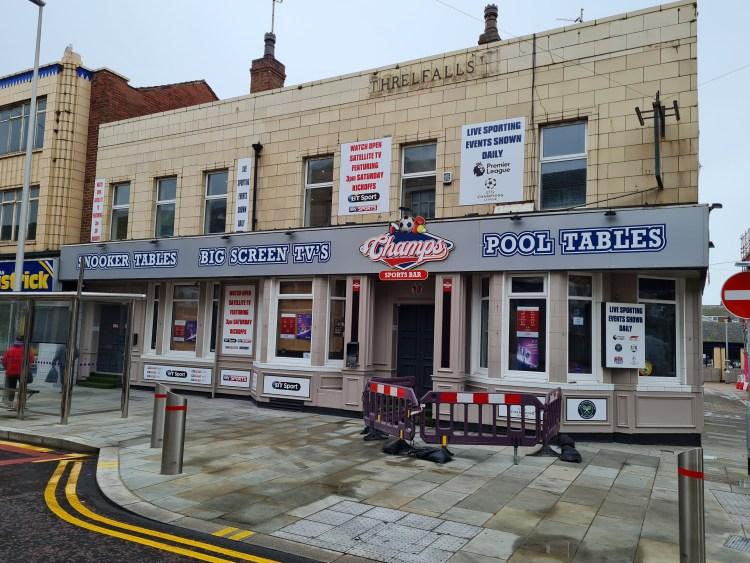 Champs - Blackpool Pub Run