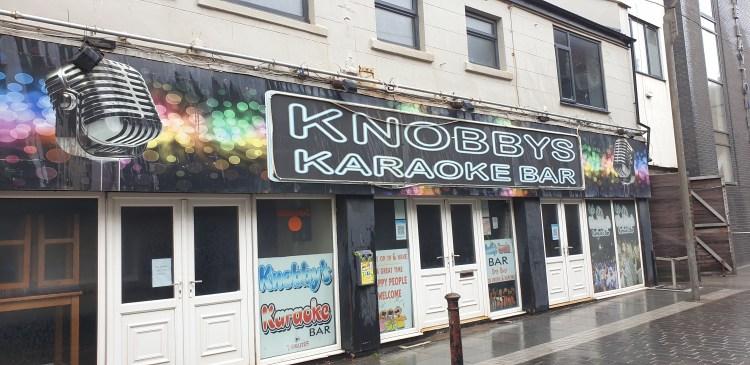 Knobbys Blackpool Karaoke bar