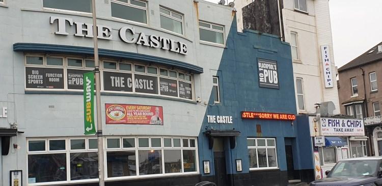 Blackpool pub - the castle