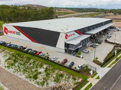 Beaumont Tiles Distribution Centre Rochedale Brisbane - Aerial - 2