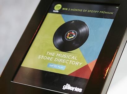 Galeries music app