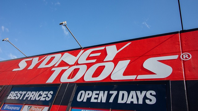 Photo of a Sydney Tools storefront.