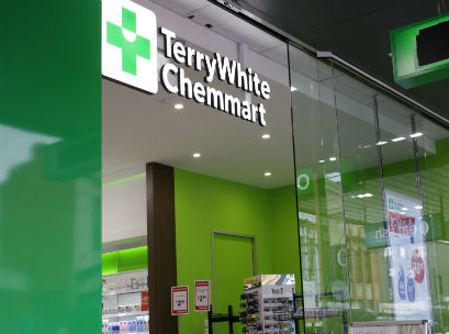 Terry White Chemmart signage