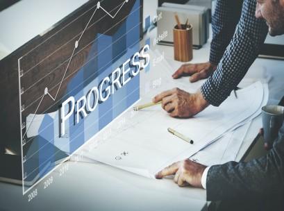 business strategy, analytics, progress