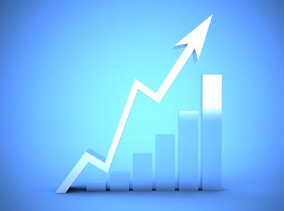 chart, arrow, dollar, up, graph