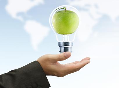 apple, business, idea, concept
