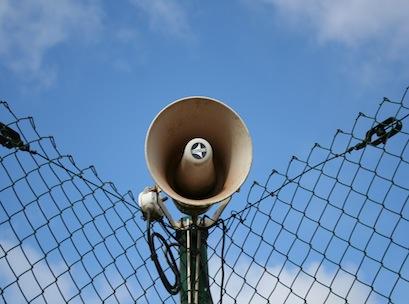 megaphone, loudspeaker