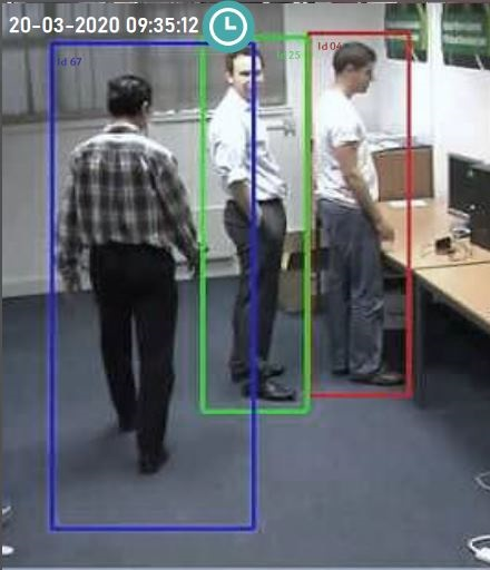 Image of people in an office