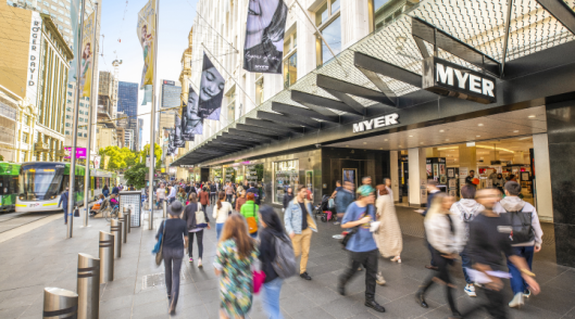 Myer bounces back to profitability, names new chair