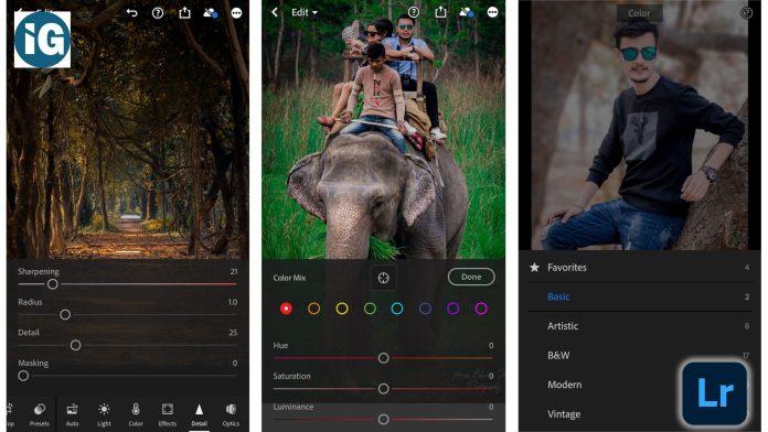 Top 5 Photo Editing Apps - Adobe lightroom