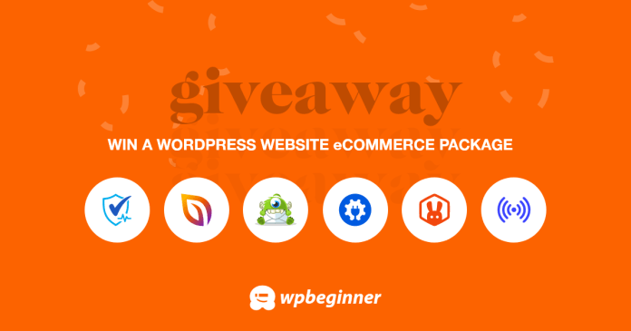 WPBeginner 12th Anniversary Giveaway