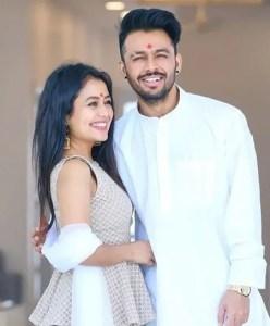 Singer Neha Kakkar and her brother Tony Kakkar