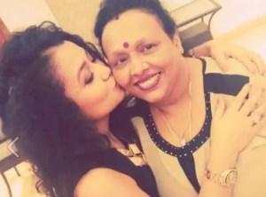 Singer Neha Kakkar and her mother Niti Kakkar