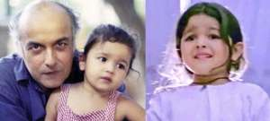 Actress alia bhat photo when her age just 2 years