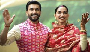 Deepika Padukone and her husband Ranveer Singh wedding picture