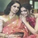 Deepika Padukone and her mother Ujjala Padukone