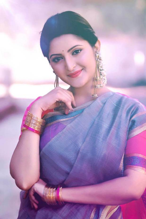 Pori Moni in Beautiful saree