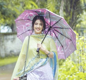 Bidya Sinha Mim modeling photo