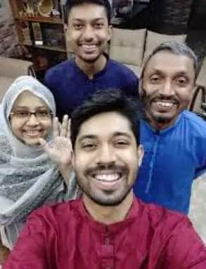 Ayman Sadiq with her family