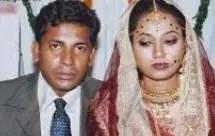 Mosharraf Karim with her wife