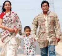Mosharraf Karim with his son & wife
